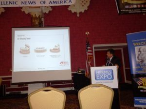 Dr Peter Kousoulis discussed dental health issue